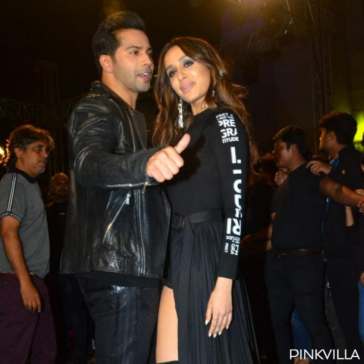 PHOTOS: Street Dancer 3D duo Varun Dhawan and Shraddha Kapoor show off their swag as they twin in black