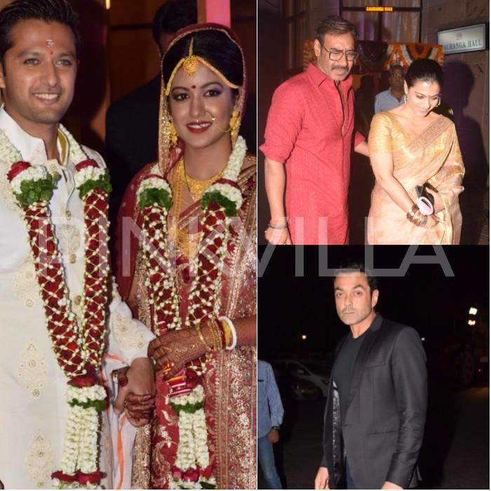 Actors Vatsal Sheth And Ishita Dutta Got Married In The City Today Duo Was Dating For A Long Time Bollywood Celebrities Like Ajay Devgn Kajol