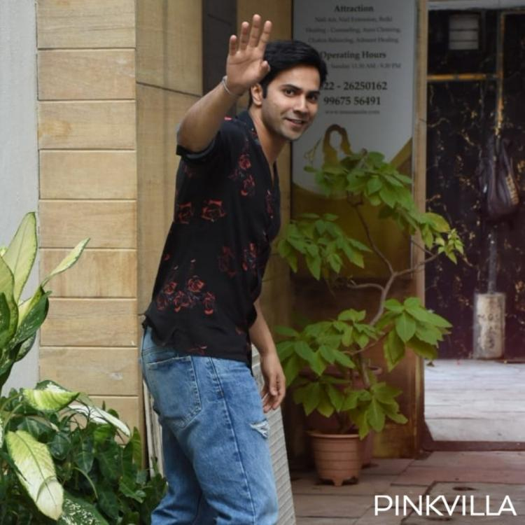 PHOTOS: Varun Dhawan is all smiles as he heads to the gym
