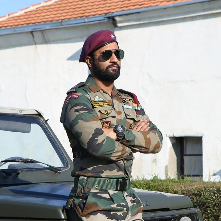 Vicky Kaushal salutes the sacrifice of Indian Soldiers on Army Day; Expresses gratitude for protecting us