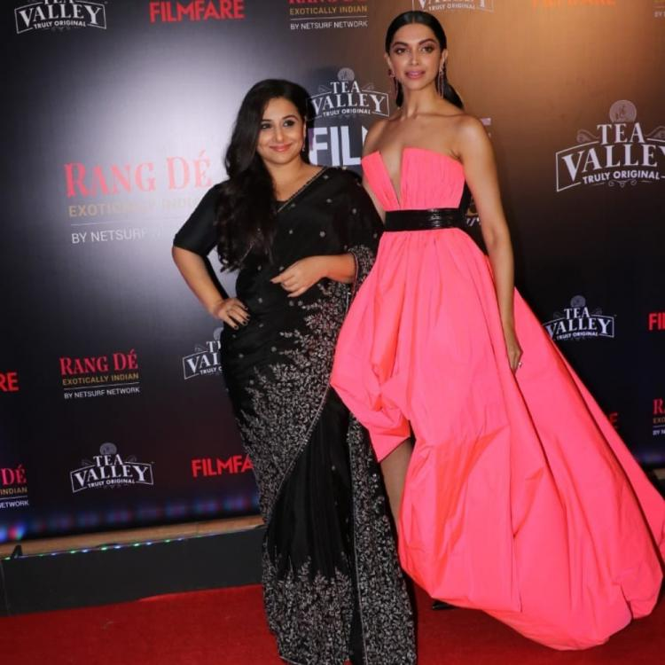 Deepika Padukone and Vidya Balan's pictures from the awards have us zooming in on them for the wrong reasons