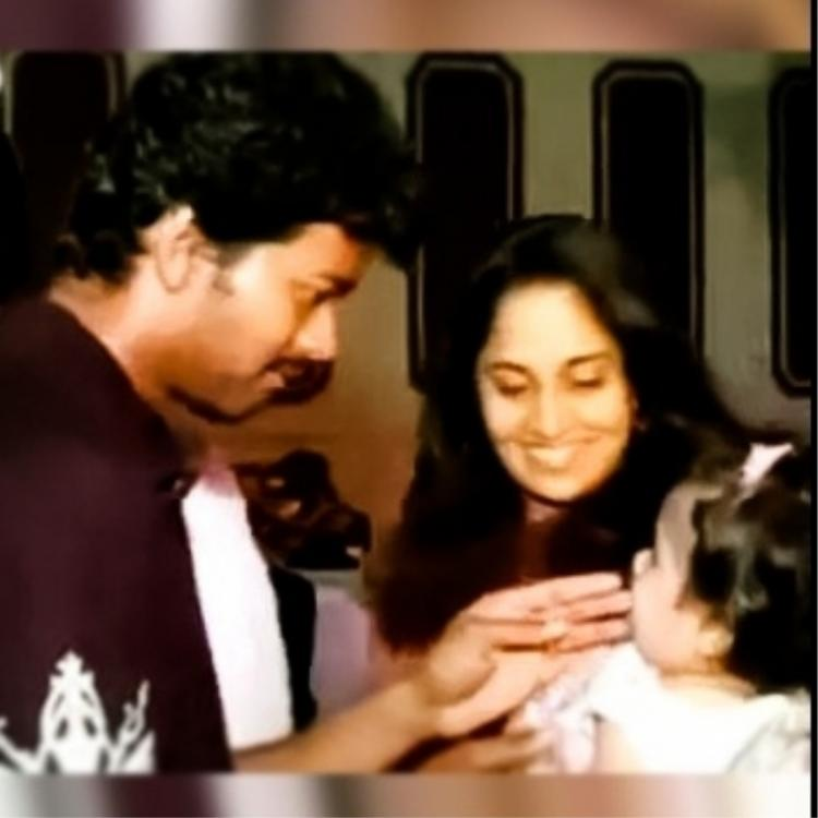 Thalapathi Vijay's sweet moment with Anushka Ajith as a child: Picture goes viral on the latter's birthday