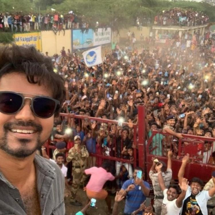 Thalapathy Vijay thanks fans for their support and his selfie breaks the internet; Check it out