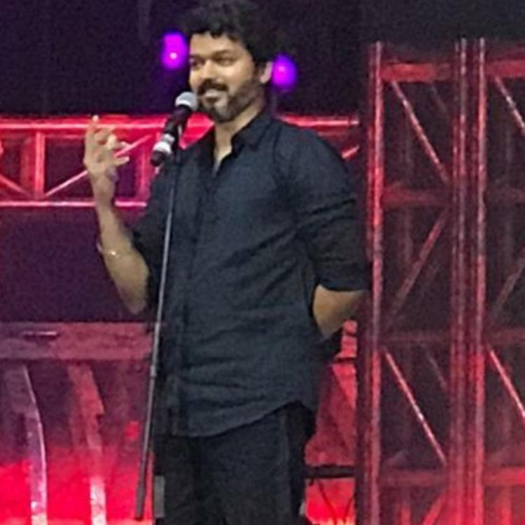 Bigil audio launch: Vijay addresses the feud between his and actor Ajith's fans; Read On