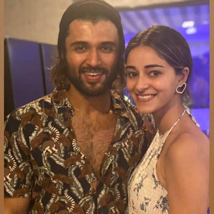 Vijay Deverakonda and Ananya Panday are  are all smiles as they are 'ready to explode on screen'; Check it out