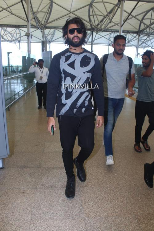 PHOTOS: Vijay Deverakonda's outfit screams Rowdy but we think it made for a smart yet casual airport look