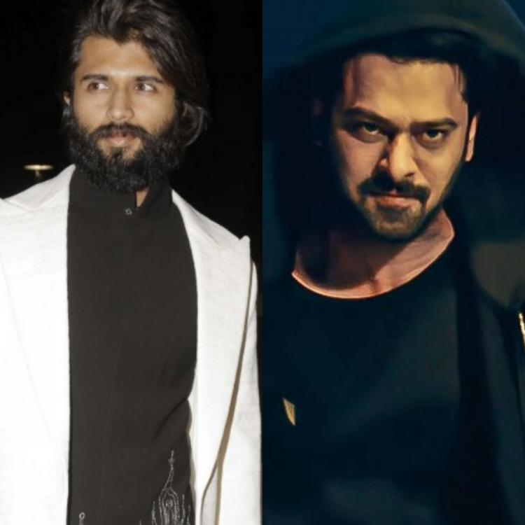 Prabhas highly praises Vijay Deverakonda's Arjun Reddy; Says, 'I liked it a lot'