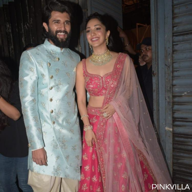 PHOTOS: Vijay Deverakonda & Kiara Advani look royal as they arrive together for a shoot
