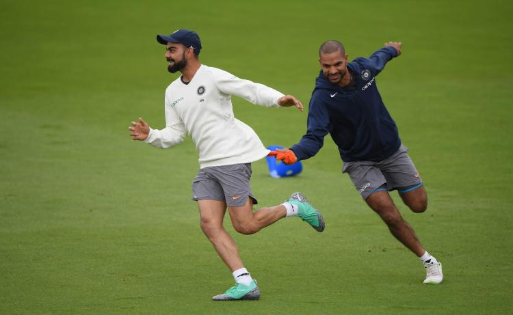 Virat Kohli and Shikhar Dhawan become the most tweeted players as they beat Australia