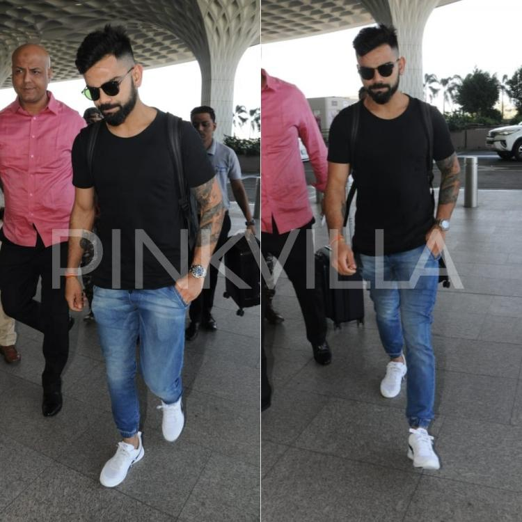 Virat Kohli Looks Uber Cool As He Gets Snapped At The