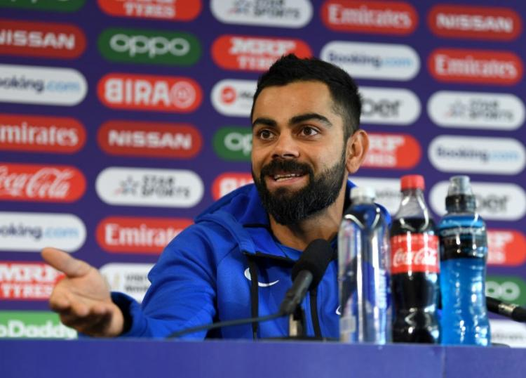 ICC World Cup 2019: Virat Kohli says, 'I hope Rohit Sharma gets two more tons' before India vs NZ semifinals