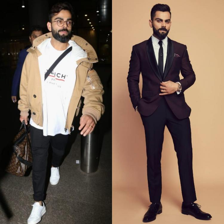 Virat Kohli's style is all about keeping it comfortable while looking dapper and we have enough proof