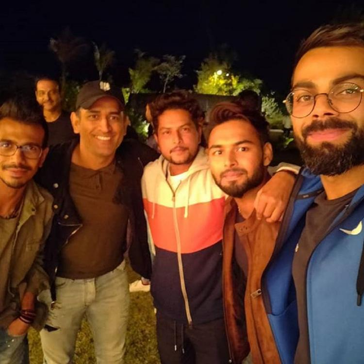 PHOTO: MS Dhoni hosts dinner for team India; Virat Kohli calls it a perfect team evening