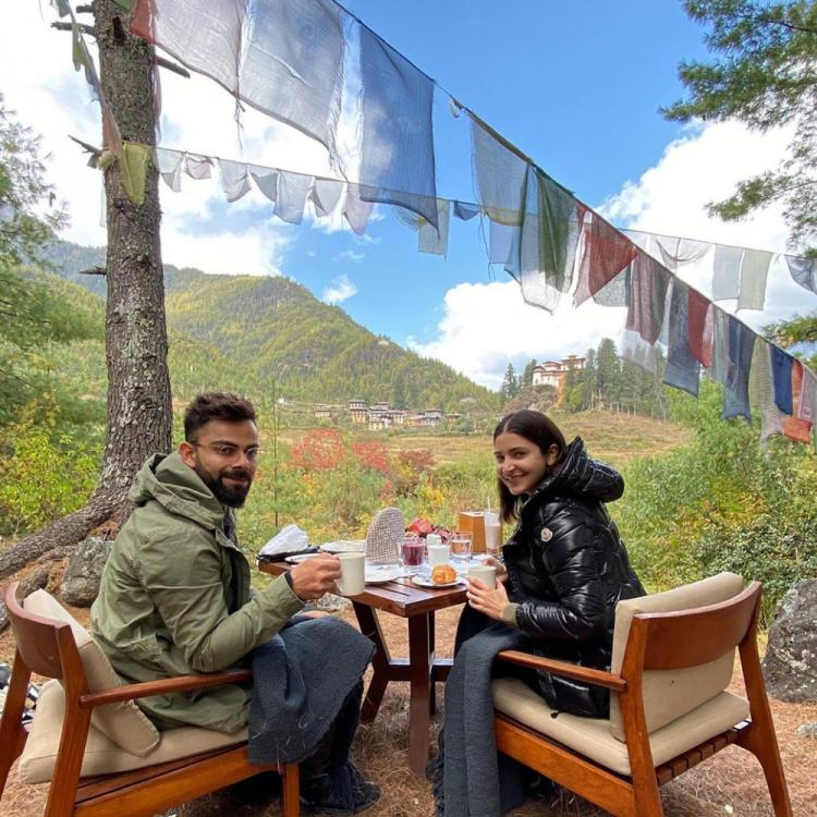 Virat Kohli shares a beautiful picture from his Bhutan trip with wifey Anushka Sharma; Check it out