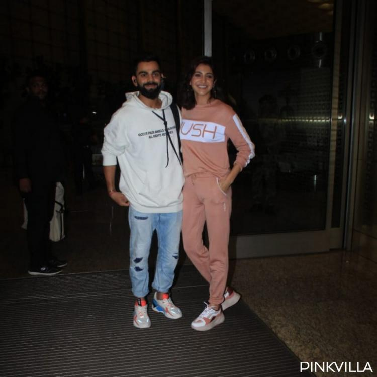 PHOTOS: Anushka Sharma and Virat Kohli make for an uber cool couple as they jet off to an undisclosed location