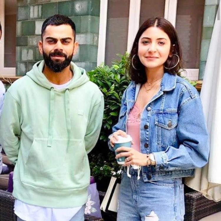 Anushka Sharma and Virat Kohli sport a smile as they go out and about in Manchester; view PIC