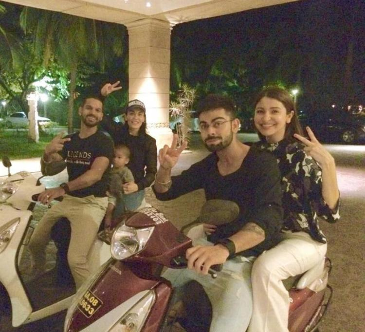 Anushka Sharma and Virat Kohli's throwback photo on a scooty is the cutest thing you'll see today; Check Out