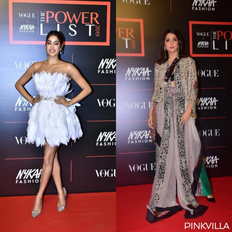 PHOTOS: Janhvi Kapoor is a beauty in white, Anushka Sharma pulls off an Indo western outfit for an eventPHOTOS: Janhvi Kapoor is a beauty in white, Anushka Sharma pulls off an Indo western outfit for an event