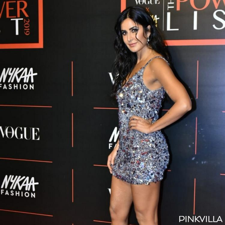 PHOTOS: Katrina Kaif totally owns the red carpet in her shimmer and shiny bling dress