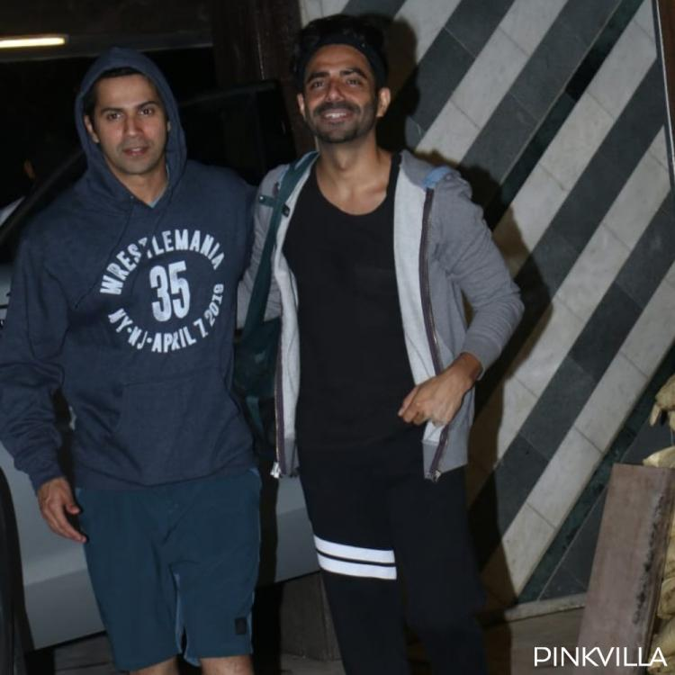 PHOTOS: Street Dancer 3D actors Varun Dhawan & Aparshakti Khurana step out together in the city