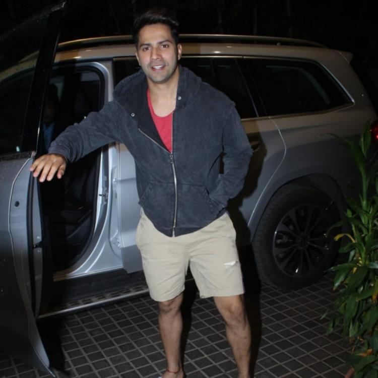 PHOTOS: Varun Dhawan keeps it comfy and cool as he arrives at the screening of the movie Bharat
