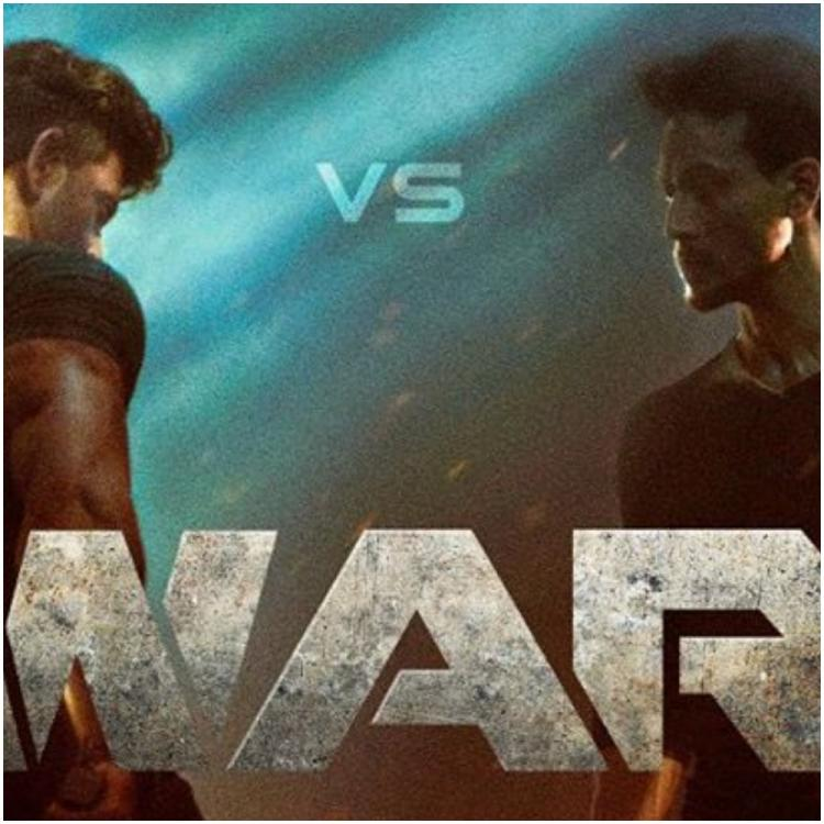 War: Hrithik Roshan and Tiger Shroff pull off an extremely risky bike stunt for their upcoming action flick