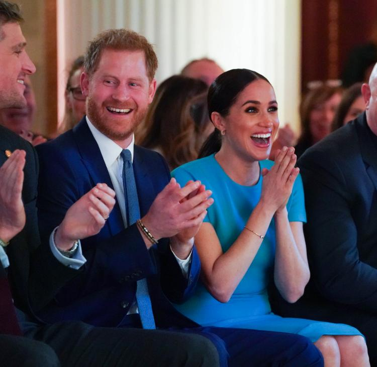 Prince Harry and Meghan Markle attended the annual Endeavour Fund Awards in London.
