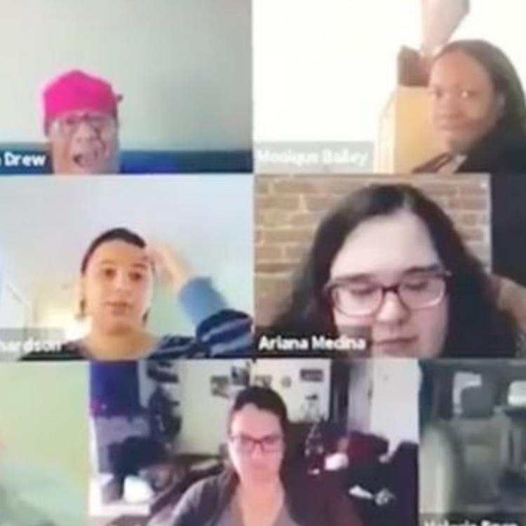 WATCH: A conference video call while working from home due to Coronavirus creates a blunder