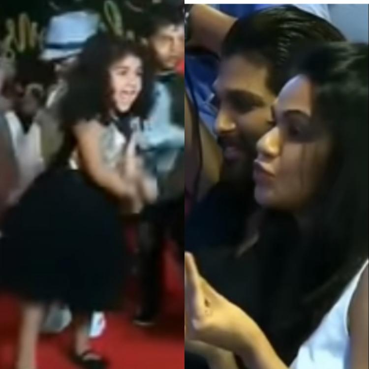 VIDEO: Allu Arjun and his wife Sneha proudly watch Arha and Ayaan perform at pre school graduation day