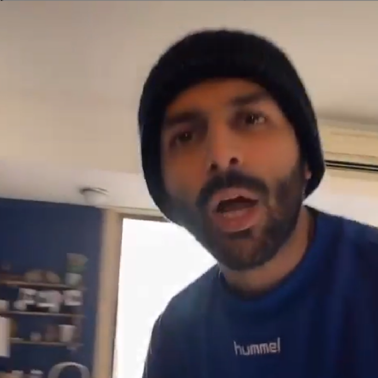 WATCH: Kartik Aaryan adds a rap twist to his Coronavirus rant; Says 'will keep reminding till you sit at home'