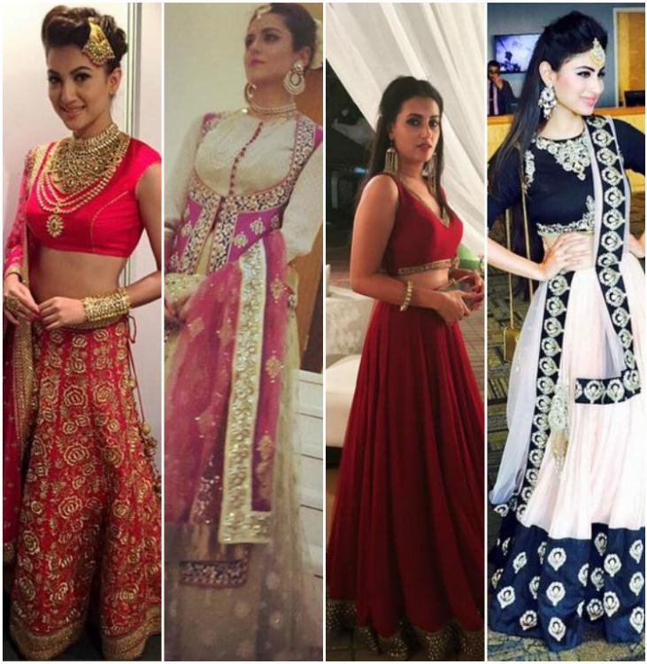Top Wedding Party Looks Sported By Celebrities This Year