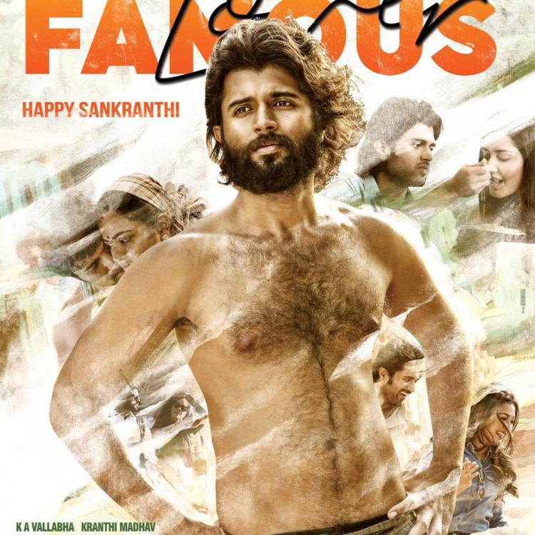 World Famous Lover: Vijay Deverakonda flaunts his chiselled body in the new poster; Check it out
