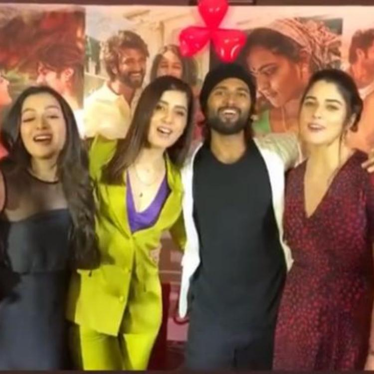 World Famous Lover: Vijay Deverakonda, Raashi Khanna & others urge fans to fall in love on Valentine's Day