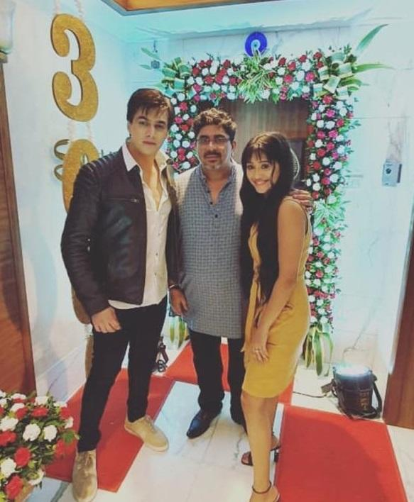 CHECK OUT: Mohsin Khan dancing to YRKKH song is all things cute; it was 'party all night' for the team