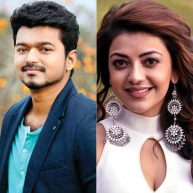 Kajal Aggarwal spills the beans about being paired up with Thalapathy Vijay