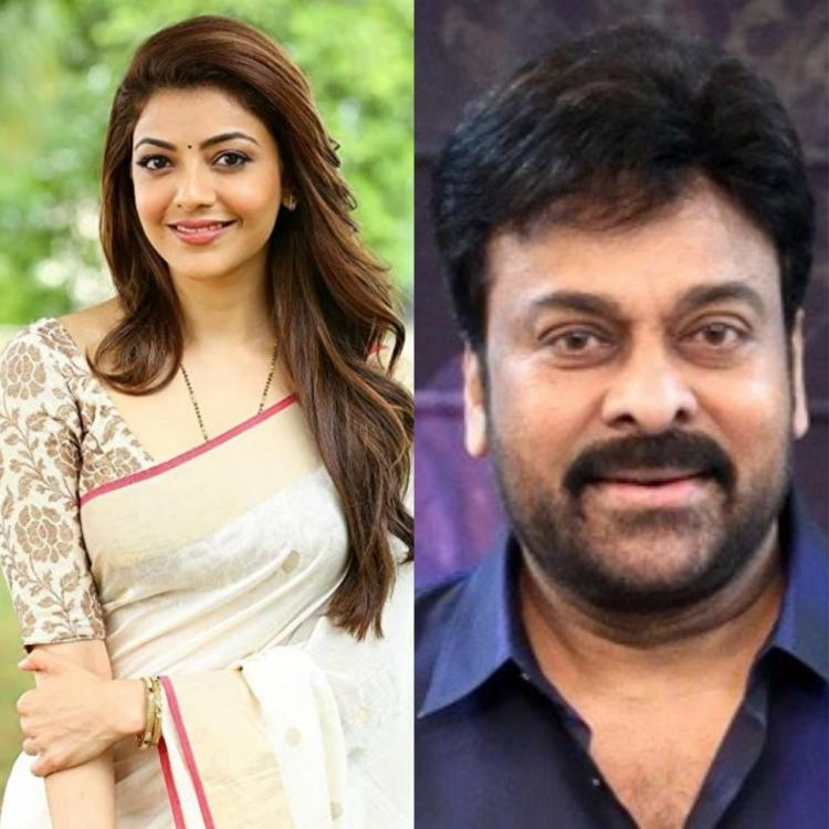 Kajal Aggarwal CONFIRMS her role in Acharya; Says she will be the female lead in the Chiranjeevi starrer