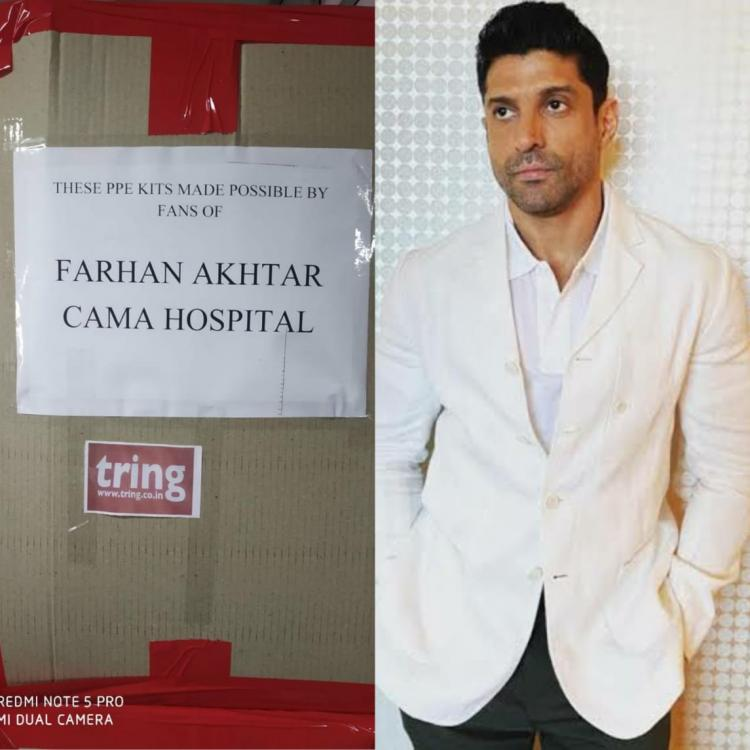 Netizens ask Farhan Akhtar why his charity is 'not faceless'