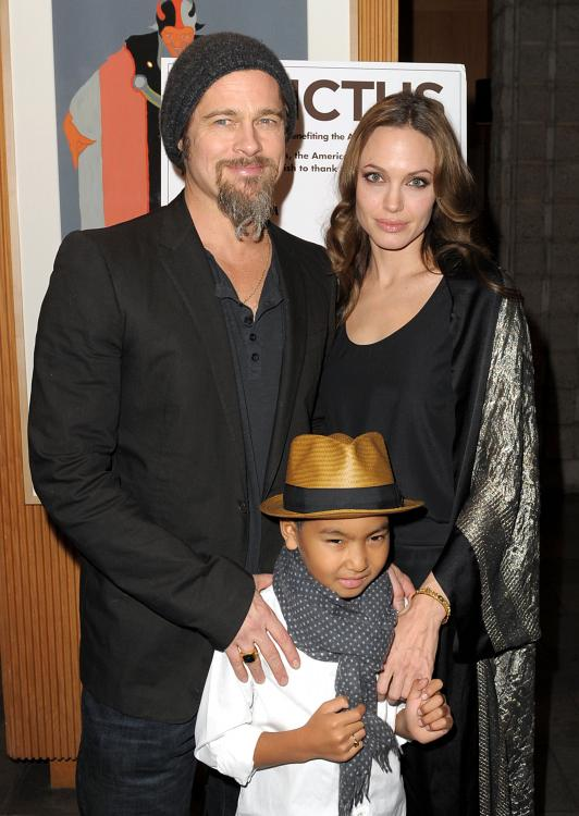 Brad Pitt and Angelina Jolie announced their separation in September 2016.