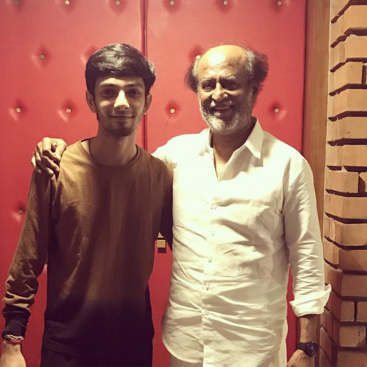 When Rajinikanth said THOSE WORDS it was a surreal experience for all says Anirudh Ravichander