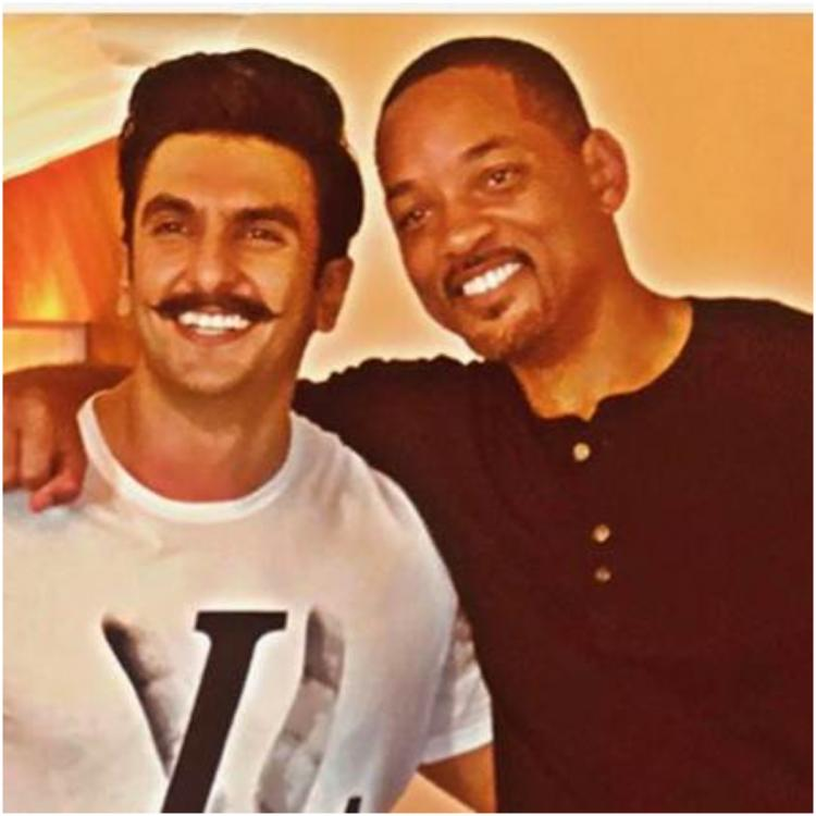 Gully Boy Ranveer Singh reacts to Will Smith's video praising him for his performance
