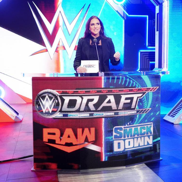 Because of The Fiend's interference in Seth Rollins vs. Roman Reigns on SmackDown on FOX, RAW got the first draft pick.