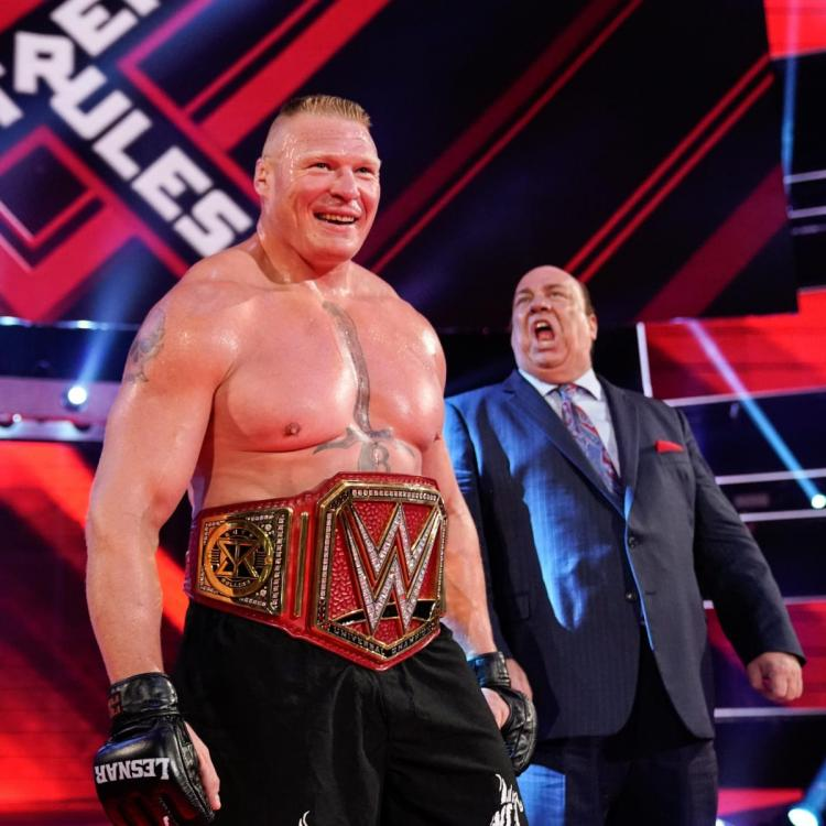 Brock Lesnar shocked the world as he cashed in on Seth Rollins and was crowned the new Universal Champion.