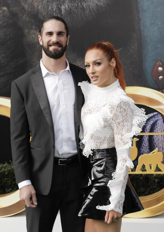 Seth Rollins and Becky Lynch got engaged in August 2019.