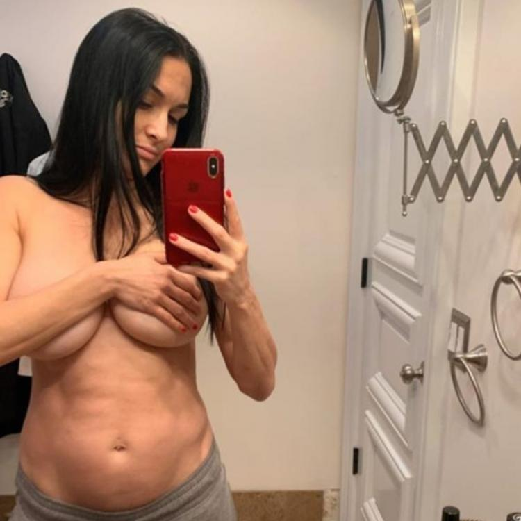 Nikki Bella is currently in her second trimester, along with her twin Brie Bella.