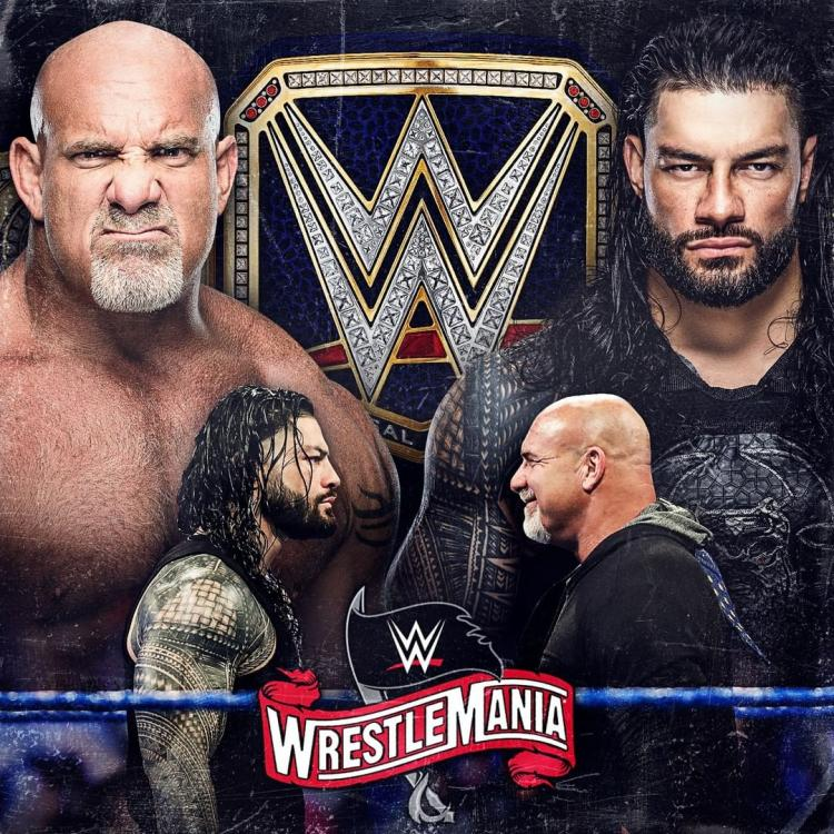 Roman Reigns was initially going to battle Goldberg for the Universal Championship at Wrestlemania 36.