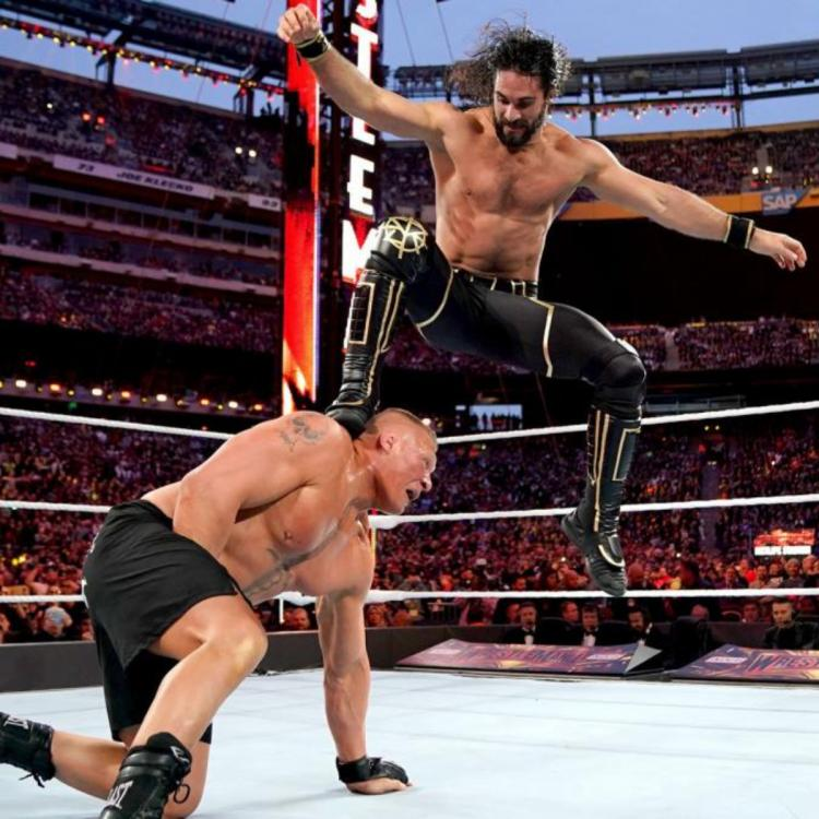 Brock Lesnar cashed in his MITB briefcase on Seth Rollins and won the Universal Championship at Extreme Rules 2019.