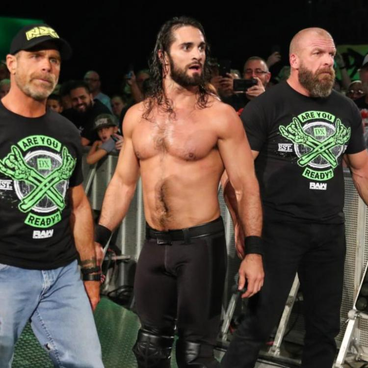 D-Generation X and Kliq appeared for the RAW Reunion to help Seth Rollins in fighting off AJ Styles and The O.C.
