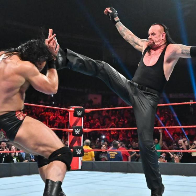 The Undertaker,Roman Reigns,WWE Raw,Hollywood