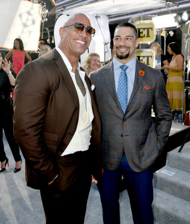 Roman Reigns was asked if he would like to have a match against his cousin, Dwayne 'The Rock' Johnson, in WWE.