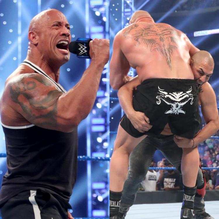 The Rock, Brock Lesnar and Cain Velasquez were the talking points during WWE SmackDown on FOX.